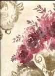 Olympia Wallpaper Allana 484-68064 By Brewster Fine Decor